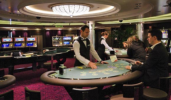 The casino features table games such as blackjack, poker and roulette